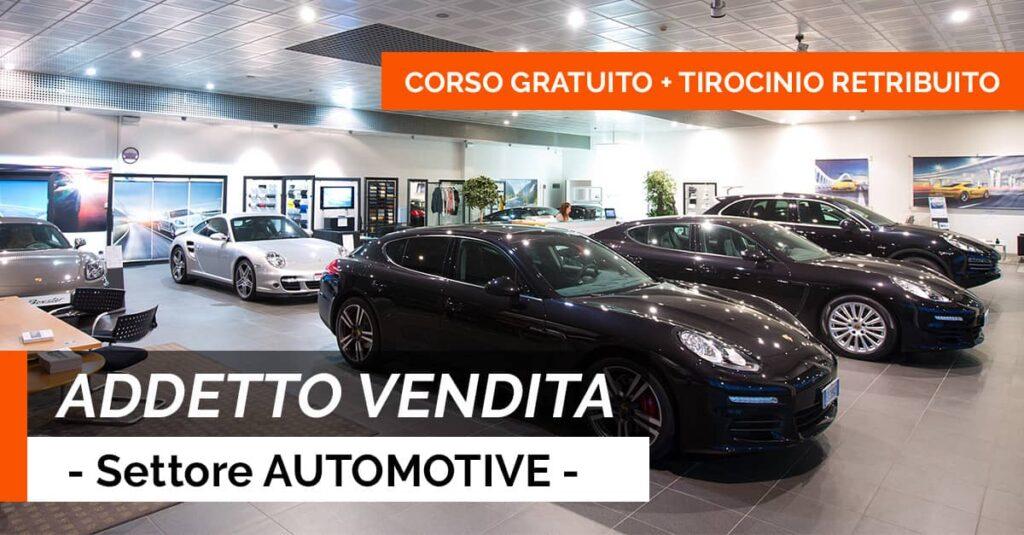 ADDETTO VENDITA AUTOMOTIVE