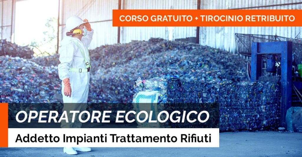 OPERATORE ECOLOGICO RIFIUTI