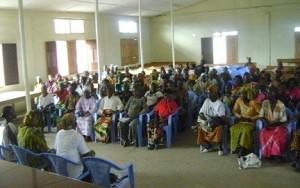 Riunione di formazione di un Comitato di Villaggio a Kahemba