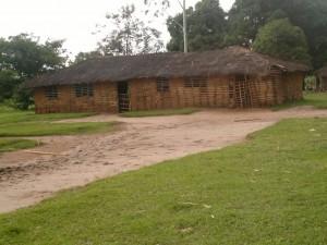 Ecole primaire Kasasa (Kahemba) avant l'intervention du projet